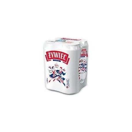 Piwo Żywiec 0,5 puszka 4-PAK