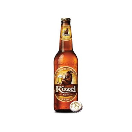 Piwo KOZEL 0,5L Jasny butelka zwrotna