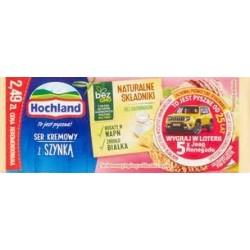 Hochland Ser kremowy z szynką 90 g