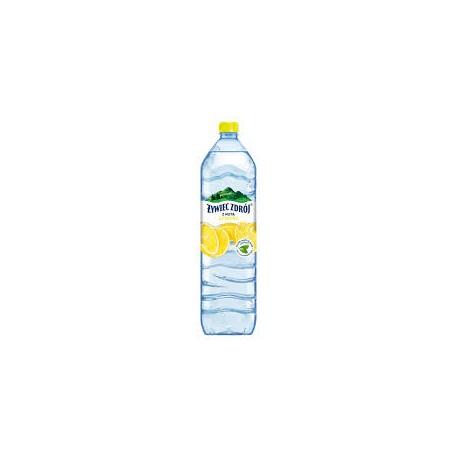 ŻYWIEC ZDRÓJ 1,5l Woda niegazowana o smaku cytrynowym