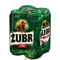 Piwo Żubr 0,5 puszka 4-PAK