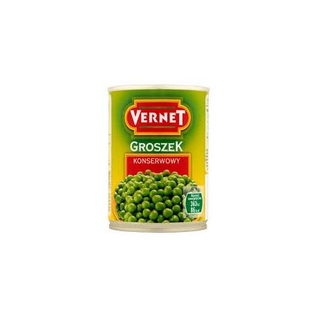 Vernet Groszek konserwowy 400 g