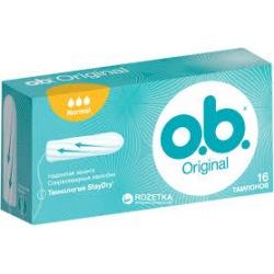 OB Normal Original Tampony 16szt