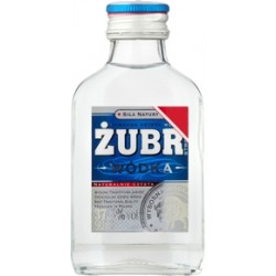 Wódka Żubr 90ml 37,5%