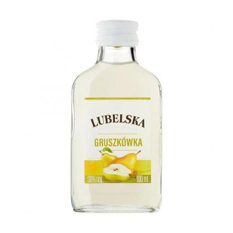 Wódka Lubelska 0,1 gruszka 30%
